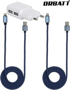 Orbatt CHR2-USB2-BLU Mobile Charger