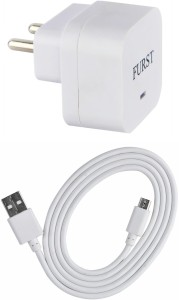 Furst 1.5 Amp. USB Adapter with Cable (1 Mtr) For LYF Wind 6 Mobile Charger