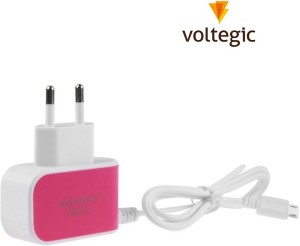 Voltegic ™ 3 Ports USB Universal Wall Travel Adapter Hub Mobile Charger