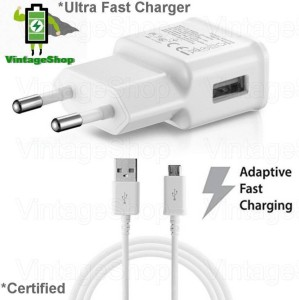 Vintage Shop 2.1Amp Speed Charger for Samsung, Sony, HTC and All Android Mobile Mobile Charger