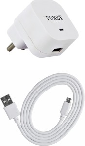 Furst 1.5 Amp. USB Adapter with Cable (1 Mtr) For Micromax Canvas 6 Pro Mobile Charger