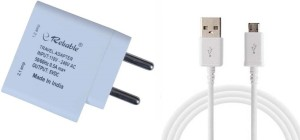 Reliable Dual USB Charger with Data Cable Mobile Charger