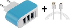 Super EU Plug + USB 3.1 Type C Mobile Charger