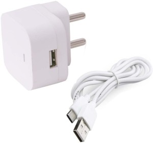 Trost 1.5A Universal Wall Adapter with C type Cable Mobile Charger