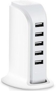 Outre 30W USB Power Adapter 5 Ports Portable Home Travel Station Dock 5V 6A Mobile Charger