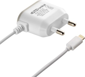 Portronics AC USB Adapter (With Lighting Cable) POR 537 Mobile Charger