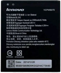 Lenovo  Battery - BL242 for A6000/A6000Plus Mobile