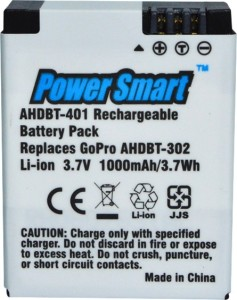 Power Smart Mobile Battery For 3.7V Rechargeable Pack For GPRO AHDBT302