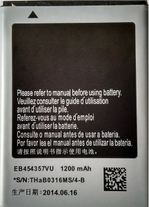 Glazz  Battery   Long Life  For S5360 EB454357VU Multicolor available at Flipkart for Rs.381