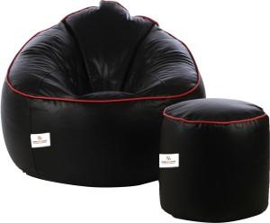 Star XXXL Bean Bag Sofa  With Bean Filling