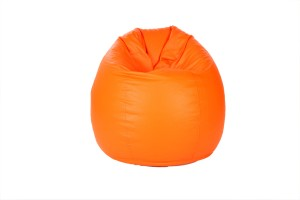 Comfy Bean Bags XL Bean Bag  With Bean Filling Orange available at Flipkart for Rs.1299