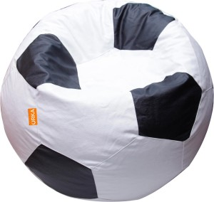 ORKA XL Bean Bag Cover   Without Beans  Black