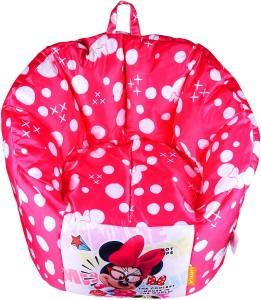 Pleasant Orka Xl Minnie Mouse Digital Printed Kids Bean Bag Sofa With Bean Fillingmulticolor Creativecarmelina Interior Chair Design Creativecarmelinacom