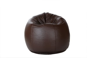 Comfy Bean Bags XL Bean Bag  With Bean Filling Brown available at Flipkart for Rs.1299