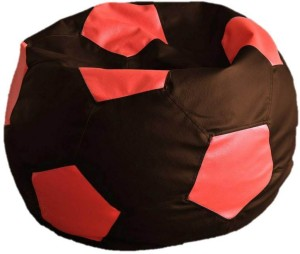 Star XXXL Football Bean Bag  With Bean Filling