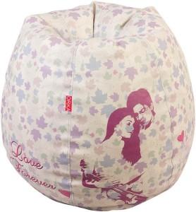 ORKA XL Bean Bag XL (Filled With Beans) Bean Bag  With Bean Filling