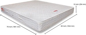 Coirfit Health Spa Active Orthopaedic 10 inch Queen High Resilience (HR) Foam Mattress