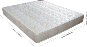 Springwel Comfort Collection 6 inch King Bonnell Spring Mattress