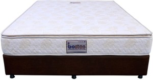 Boston Bonnell Spring With Pillow Top 6 inch Single Bonnell Spring Mattress