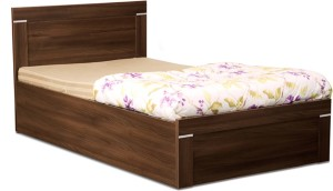Debono Solitaire AD BS Bed Engineered Wood Single Bed With Storage