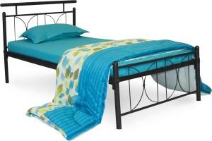 FurnitureKraft Perth Metal Single Bed