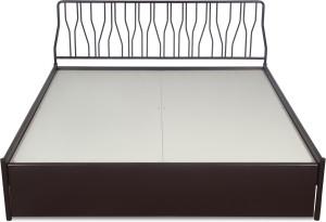 Godrej Interio Liva Jive Metal Queen Bed With Storage