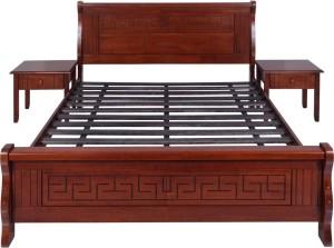 Evok Alexis Solid Wood Queen Bed