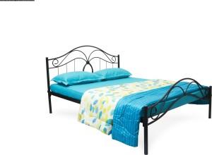 FurnitureKraft Seattle Metal Queen Bed