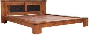 HomeTown Leopold Solid Wood Queen Bed