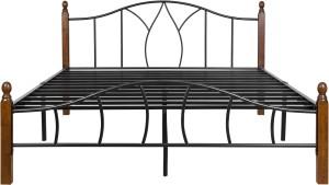 FurnitureKraft Montreal Metal Queen Bed