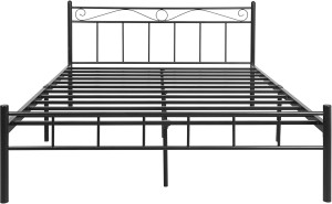 FurnitureKraft London Metal King Bed