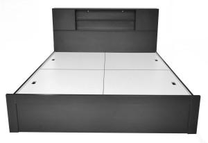 UNiCOS Jodan Engineered Wood Queen Bed With Storage