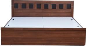 Nilkamal Reegan Engineered Wood Queen Bed With Storage