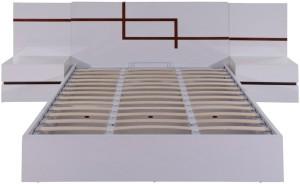 Evok Finlay Engineered Wood Queen Bed With Storage