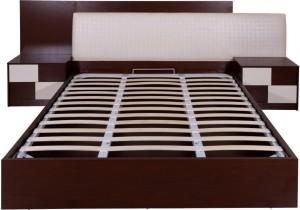 Evok Florida Engineered Wood Queen Bed With Storage