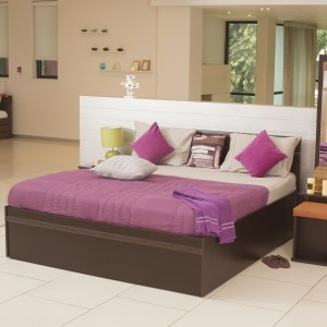 Godrej Interio Zurina Engineered Wood King Bed With Storage