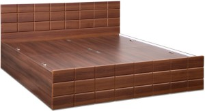 7c8784a1d Debono Checkers WM BS Bed Engineered Wood King Bed With Storage ...