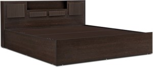 HomeTown Tiago Engineered Wood King Bed With Storage