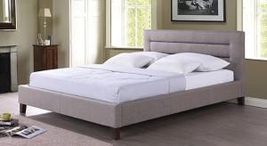 Urban Ladder Gemellus Upholstered Engineered Wood Queen Bed