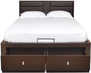 @home by Nilkamal Triumph Engineered Wood King Bed With Storage