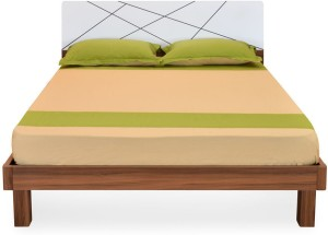 @home by Nilkamal Tiffany Engineered Wood Queen Bed With Storage