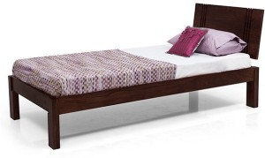 Home Edge Solid Wood Single Bed