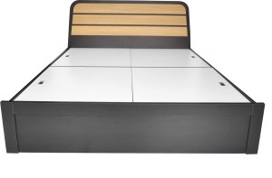 UNiCOS Ronald Engineered Wood Queen Bed With Storage
