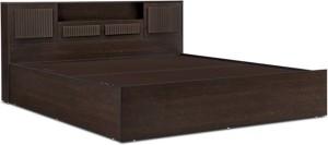 HomeTown Tiago Engineered Wood Queen Bed With Storage