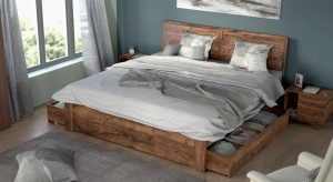 Urban Ladder Terence Solid Wood King Bed With Storage