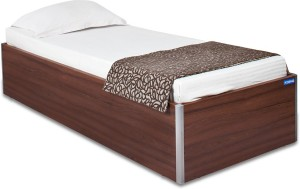 Spacewood Day Engineered Wood Single Bed With Storage