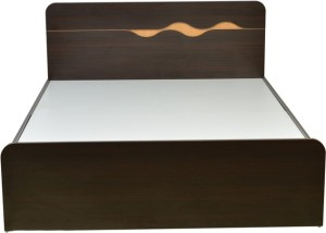 HomeTown Swirl Engineered Wood Queen Bed