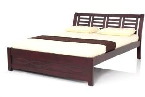 JFA FLEMING Solid Wood Queen Bed