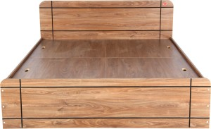 Kurlon RUGGED Engineered Wood Queen Bed With Storage