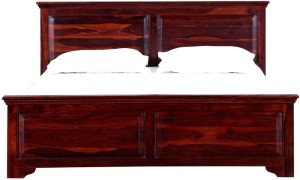 Amaani Furniture's Solid Wood Queen Bed
